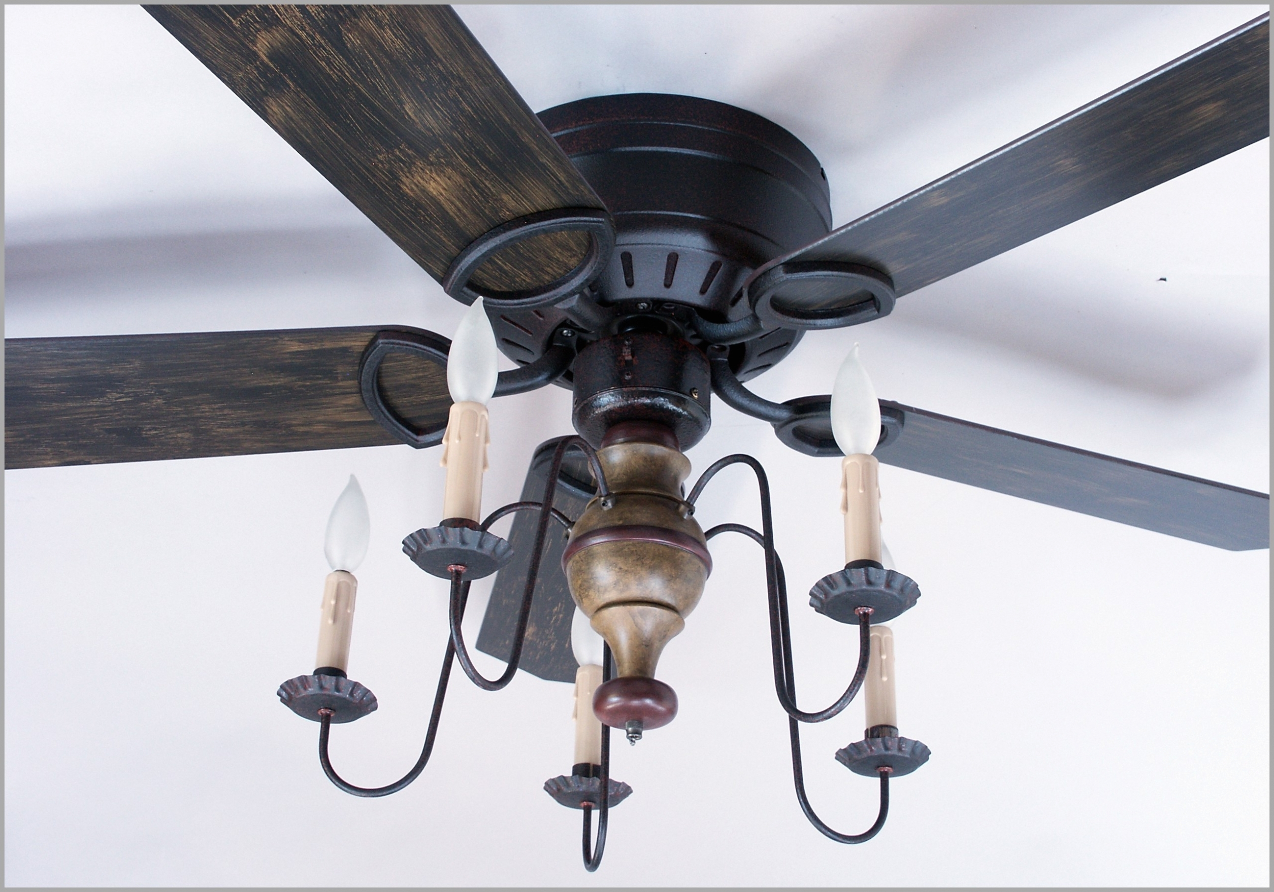 Fan: Rustic Windmill Ceiling Fan (View 18 of 20)