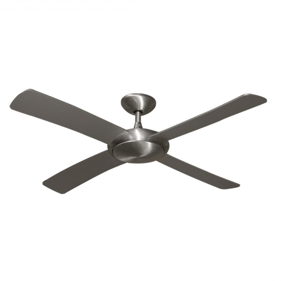 Fashionable Grey Outdoor Ceiling Fans Pertaining To Modern Ceiling Fans, Lunagulf Coast – Outdoor Rated (View 4 of 20)