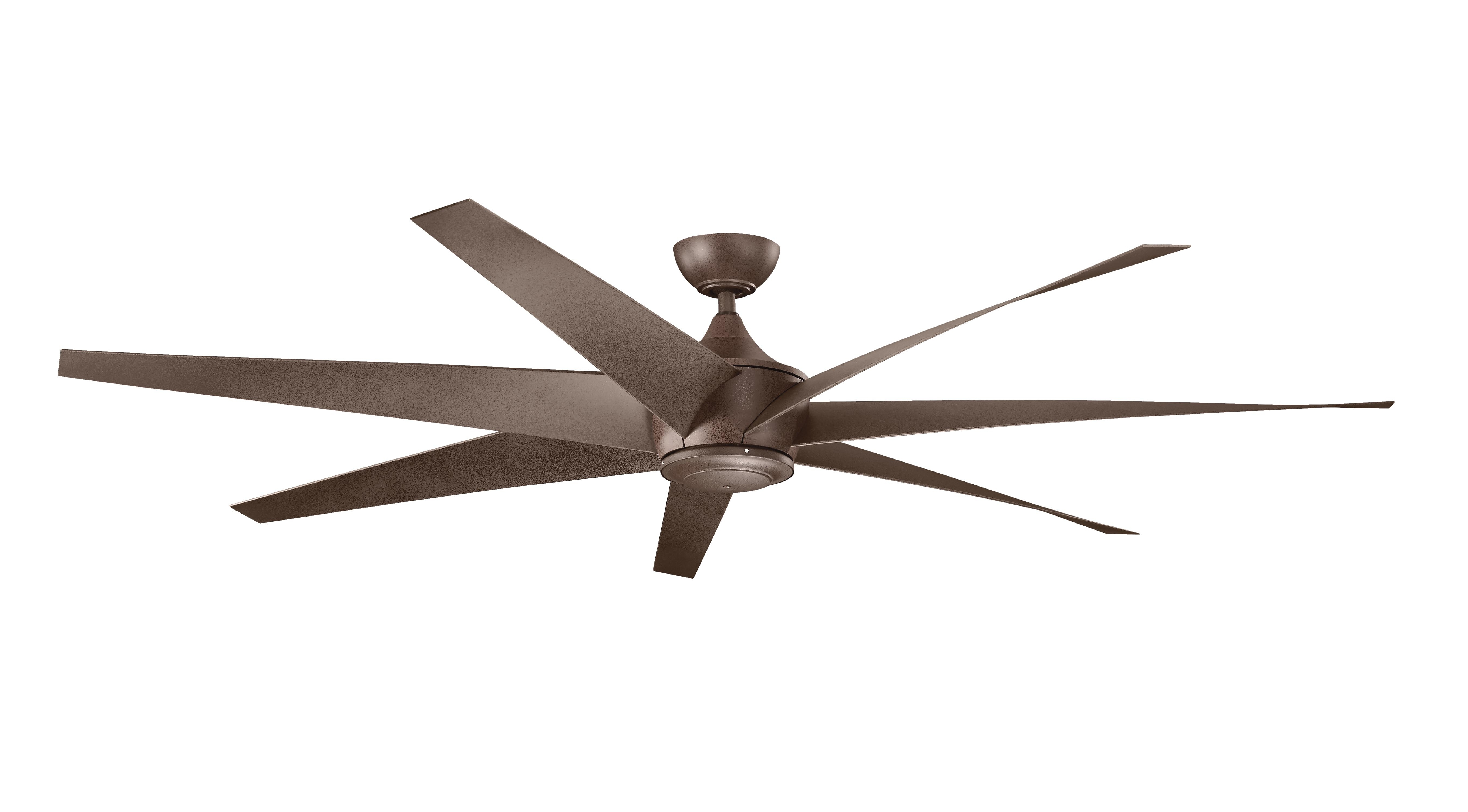 Fashionable Kichler Lehr Wet Climate Dc Ceiling Fan – New For 2016 Throughout 72 Predator Bronze Outdoor Ceiling Fans With Light Kit (View 13 of 20)