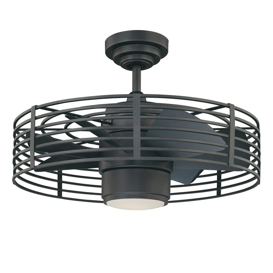 Favorite Enclosed Outdoor Ceiling Fans With Enclosed Ceiling Fan With Light (View 5 of 20)