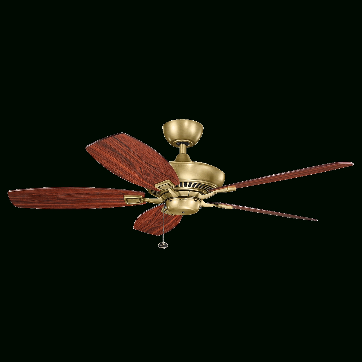 "Favorite Gold Coast Outdoor Ceiling Fans With 52"" Canfield Ceiling Fan With White Finish (View 17 of 20)"
