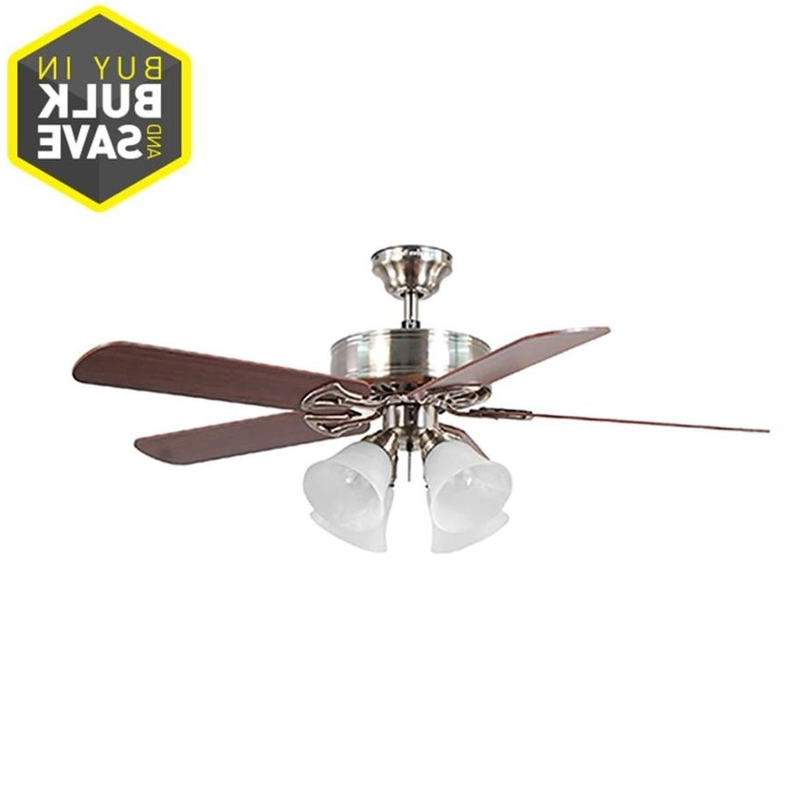 Favorite Gold Coast Outdoor Ceiling Fans With Regard To Shop Ceiling Fans At Lowes (View 8 of 20)