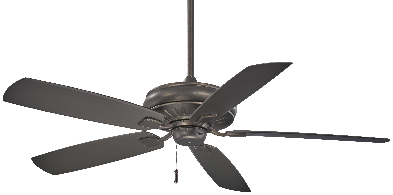 "Favorite Minka Aire 60"" Sunseeker 5 Blade Outdoor Ceiling Fan (View 6 of 20)"