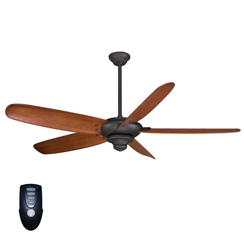 Favorite Outdoor Ceiling Fan No Electricity Regarding Home Decorators Collection Altura 68 In (View 5 of 20)