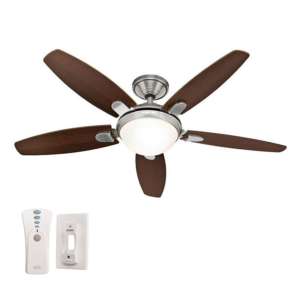 Favorite Outdoor Ceiling Fans With Lights And Remote Control Throughout Hunter Ceiling Fans With Lights And Remote Control (View 4 of 20)