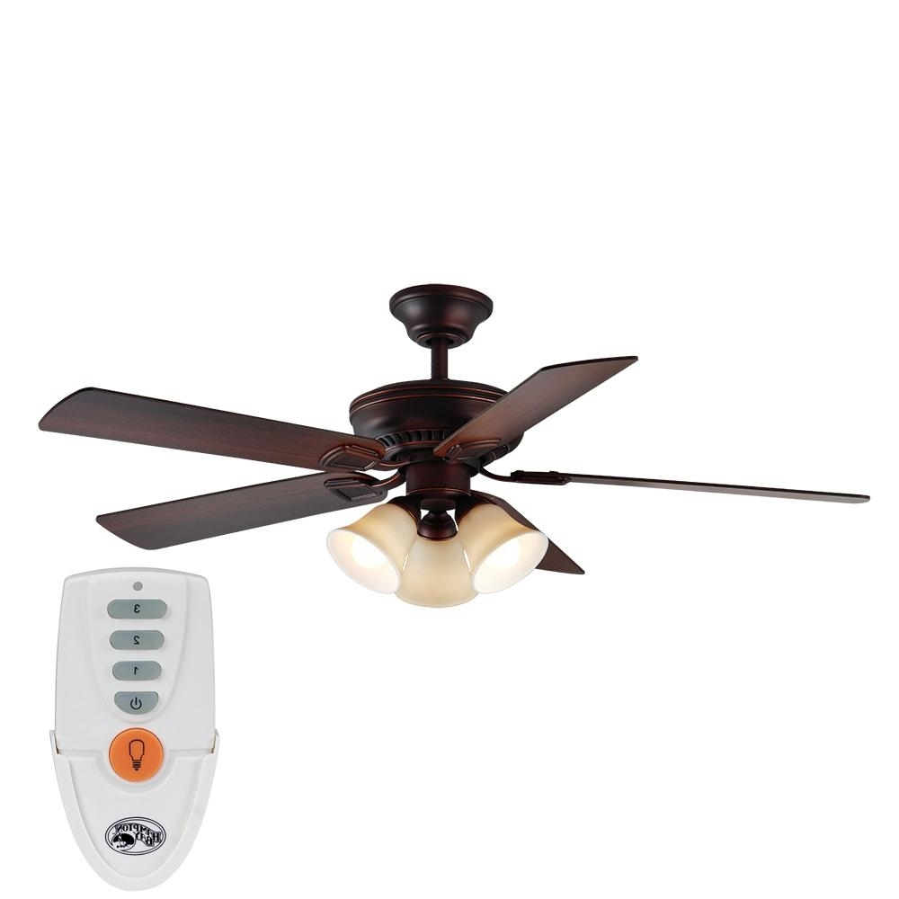 Favorite Victorian Outdoor Ceiling Fans Within Indoor – Ceiling Fans – Lighting – The Home Depot (View 6 of 20)