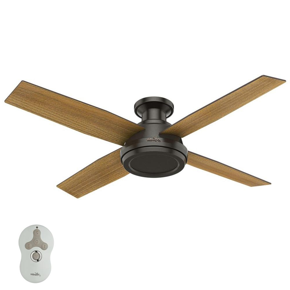 Favorite Waterproof Outdoor Ceiling Fans In Hunter Caicos 52 In (View 11 of 20)