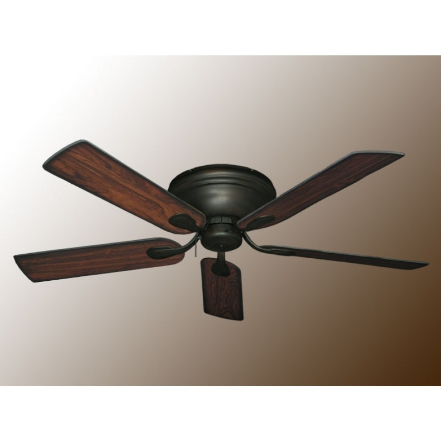 Flush Mount Ceiling Fans, Stratus Ceiling Fan With Trendy Outdoor Ceiling Fans With Removable Blades (View 9 of 20)