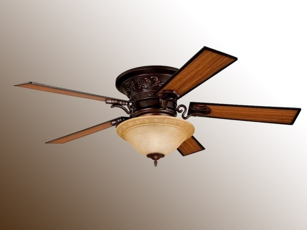 Flush Mount Outdoor Ceiling Fans In Fashionable Flush Mount Ceiling Fans Classic : Flush Mount Ceiling Fans Interior (View 6 of 20)
