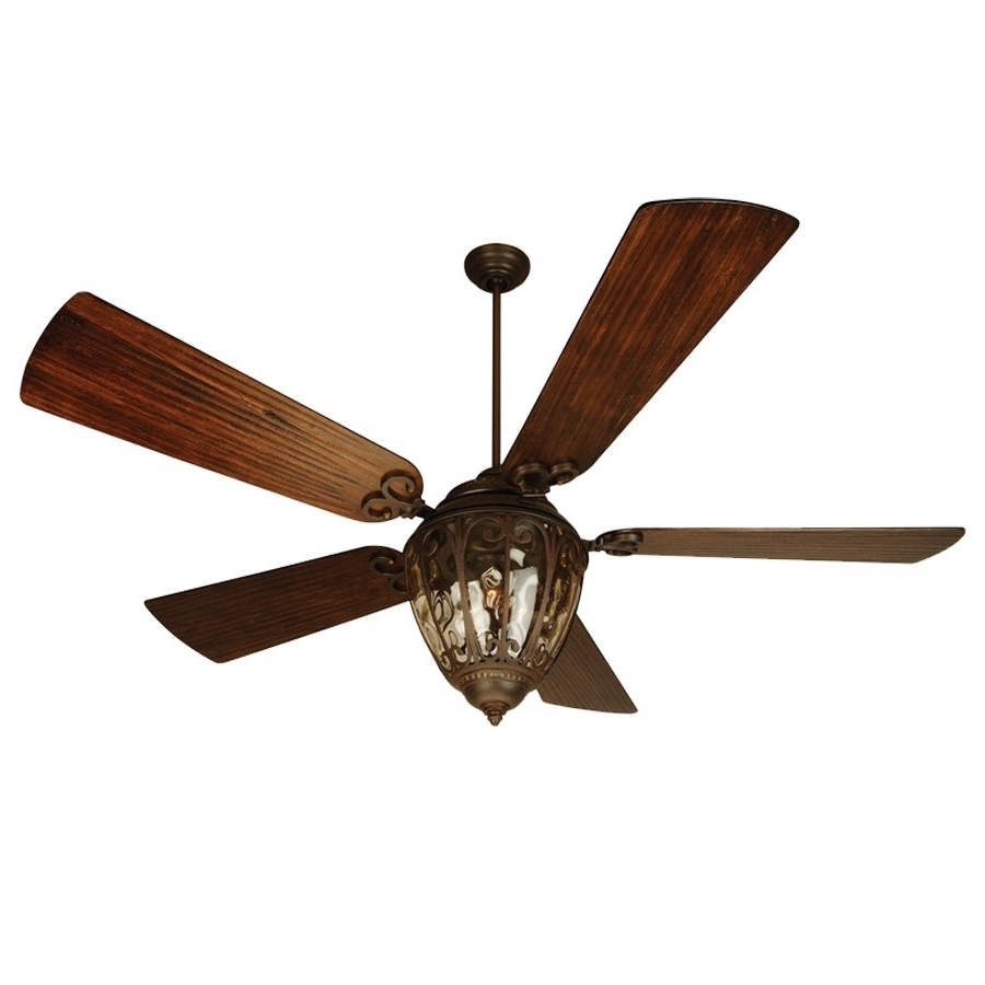 Fredericksburg Indoor/outdoor Craftmade Ceiling Fan Fb60Obg5 – Oiled Throughout Most Recent Craftmade Outdoor Ceiling Fans Craftmade (View 13 of 20)