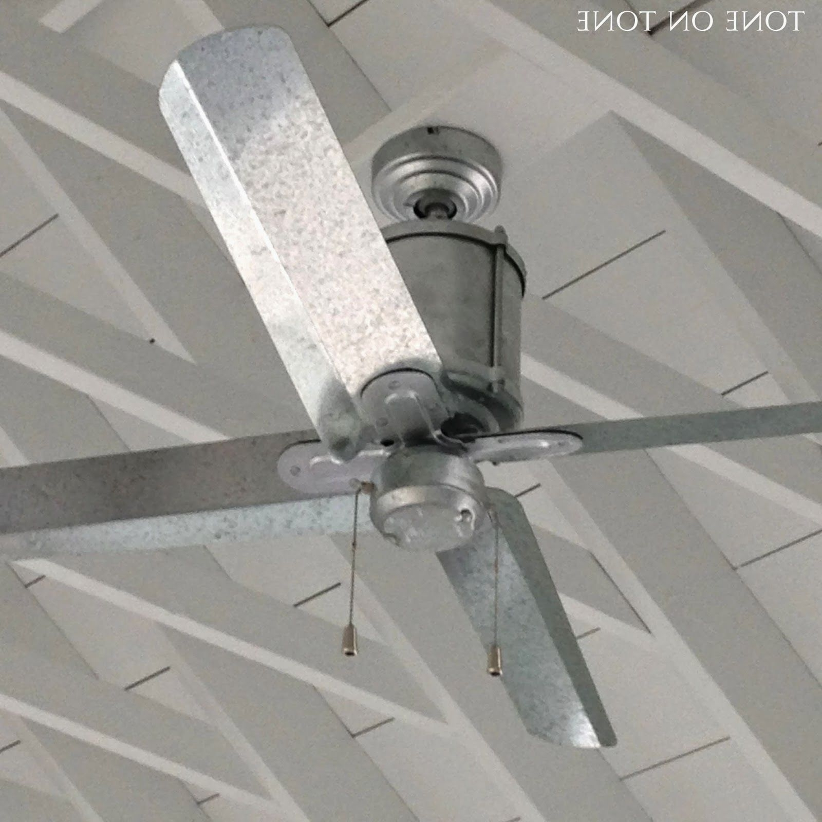 Galvanized Outdoor Ceiling Fans With Regard To Famous This Is Such A Glorious Time Of The Year (View 2 of 20)