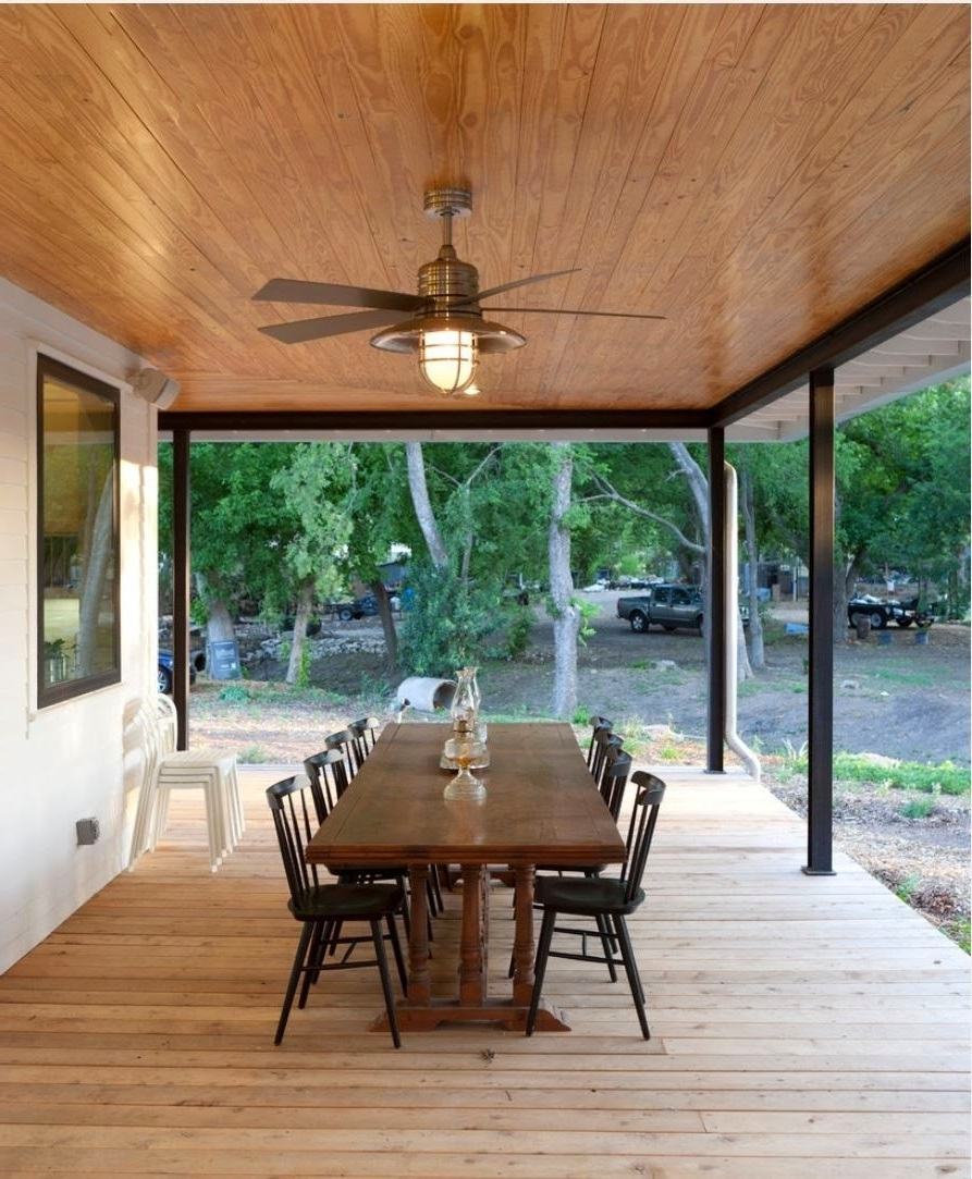 Gorgeous Outdoor Patio Fans House Decorating Images Industrial Intended For Popular Industrial Outdoor Ceiling Fans (Gallery 20 of 20)