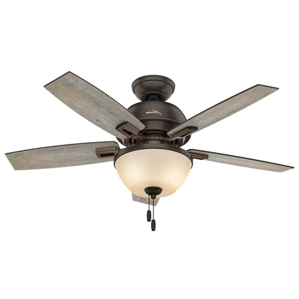 Gray – Ceiling Fans – Lighting – The Home Depot Inside Trendy Victorian Style Outdoor Ceiling Fans (View 4 of 20)
