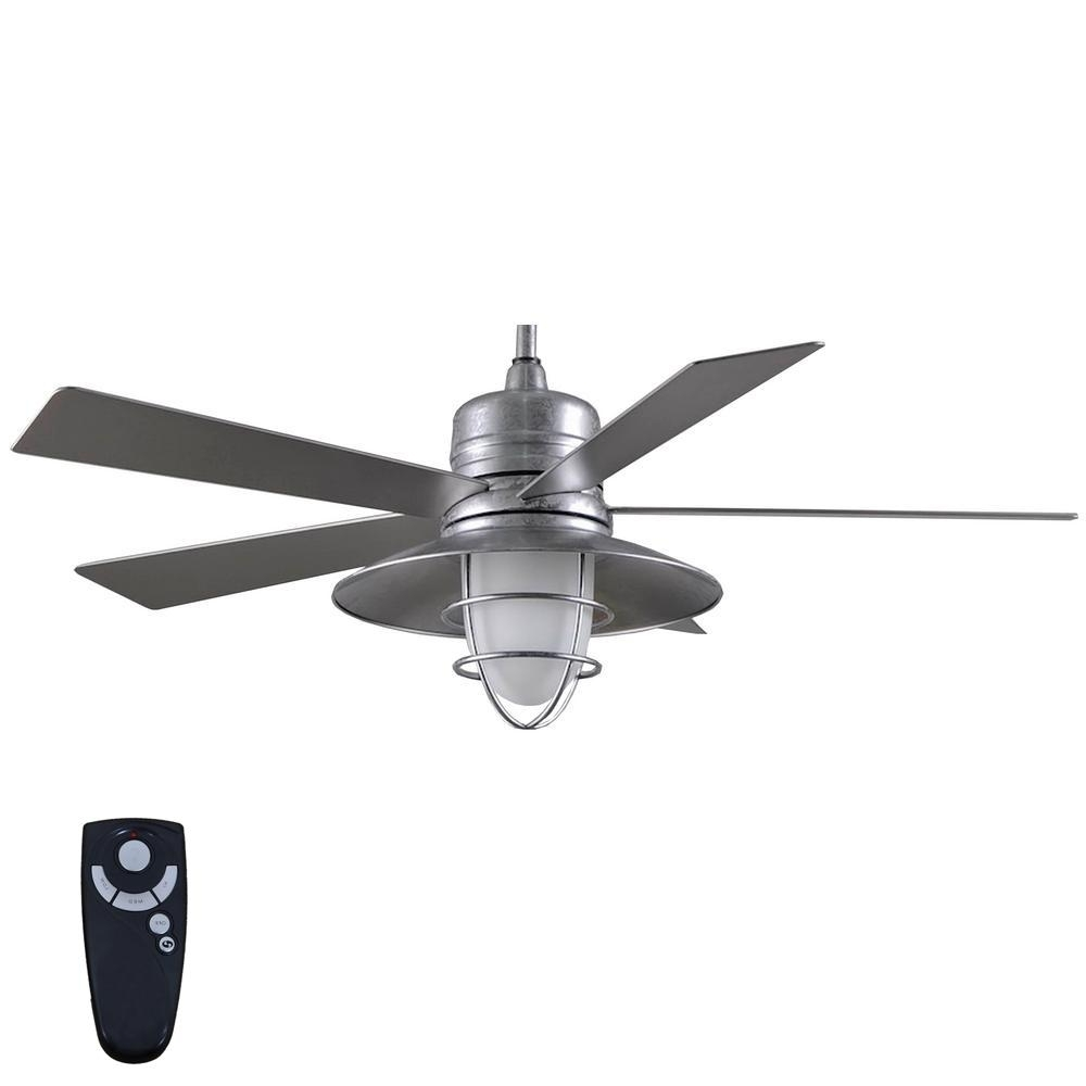 Home Decorators Collection Altura Dc 68 In. Indoor Brushed Gold Regarding Famous Outdoor Ceiling Fans Under $75 (Gallery 12 of 20)