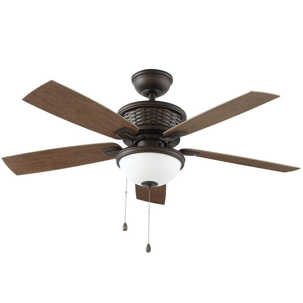 Home Decorators Collection Madreno 48 In. Led Indoor/outdoor Oil In 2018 Outdoor Ceiling Fans With Led Globe (Gallery 3 of 20)