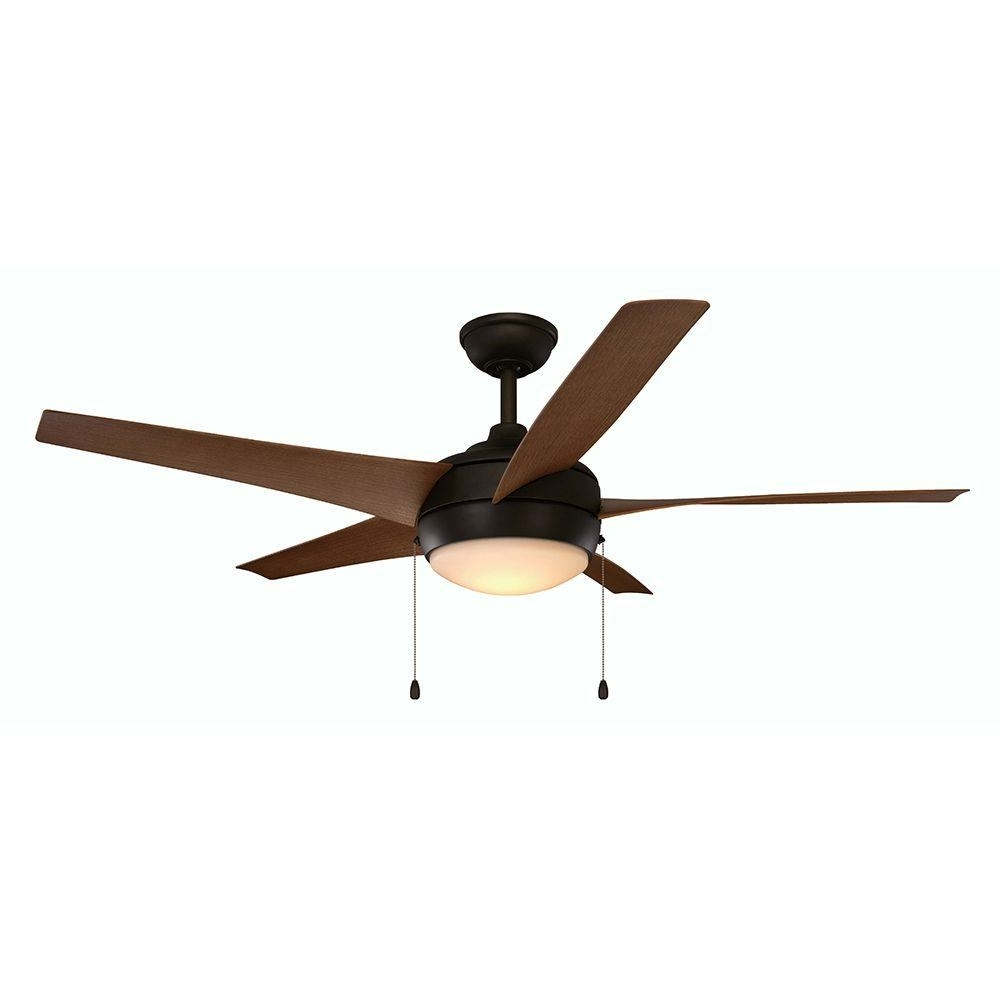 Home Decorators Collection Windward Iv 52 In. Integrated Led Indoor For Widely Used Outdoor Ceiling Fans Under $150 (Gallery 19 of 20)