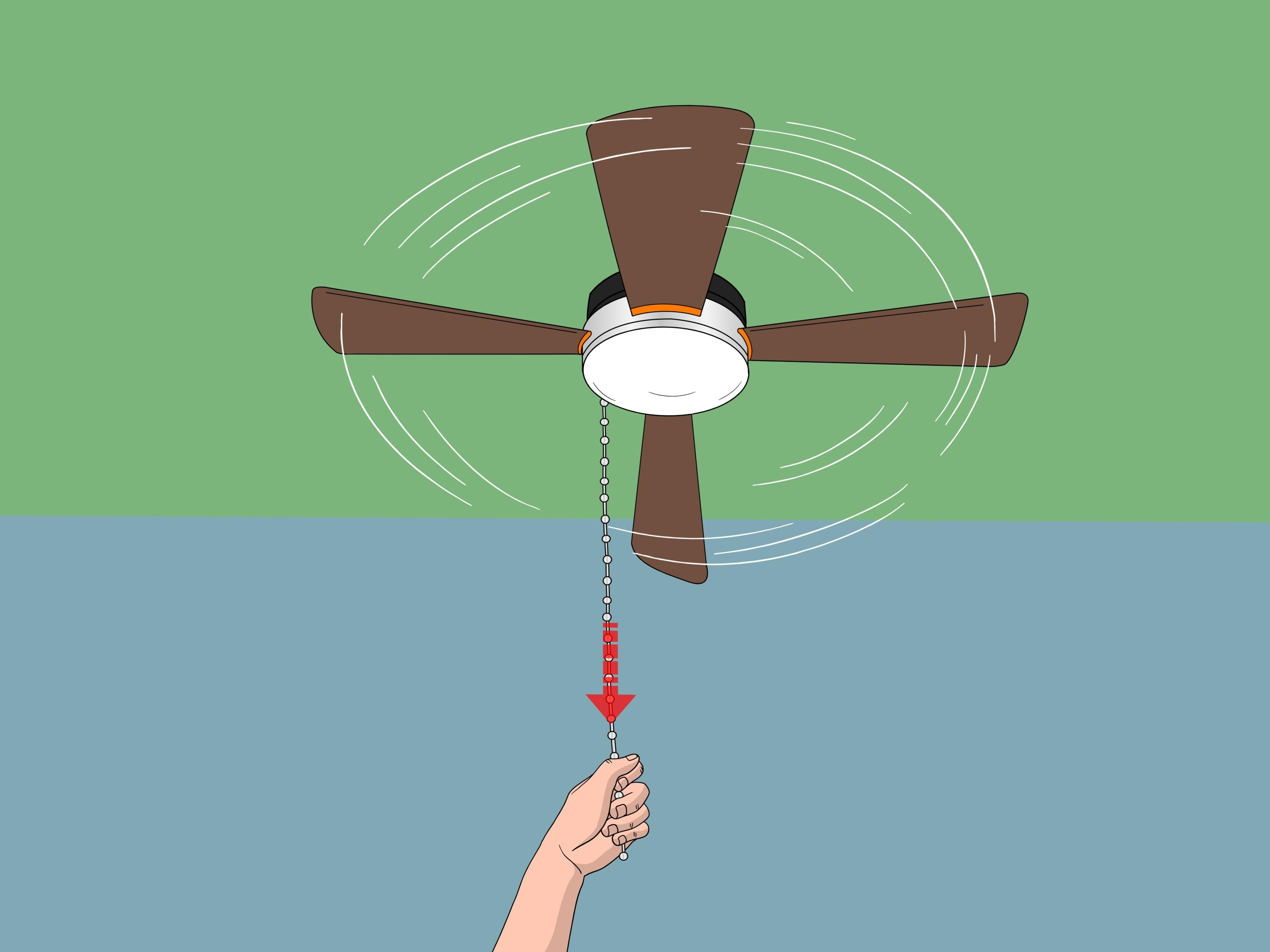 How To Replace A Ceiling Fan Pull Chain Switch (With Pictures) Intended For Famous Outdoor Ceiling Fans With Pull Chains (Gallery 16 of 20)