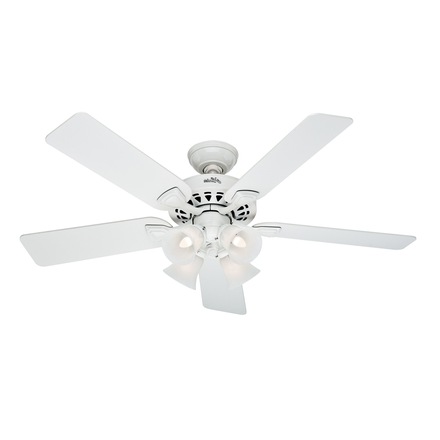 Hunter Outdoor Ceiling Fans With White Lights Within Famous Ideas: Ceiling Fans With Lights Walmart (Gallery 17 of 20)