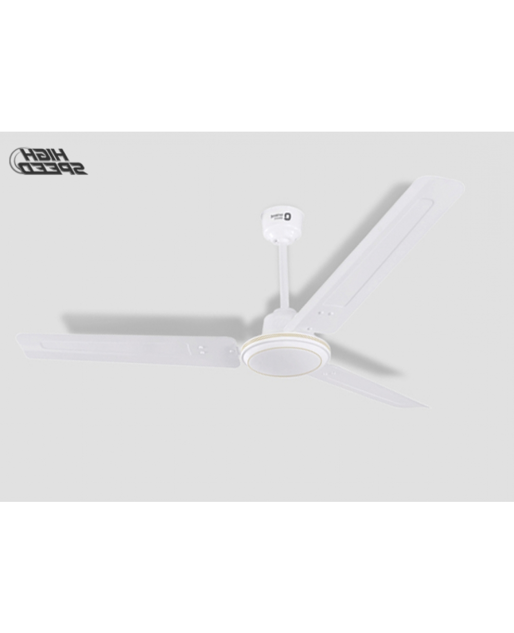 Hurricane Outdoor Ceiling Fans With Favorite Orient New Hurricane 48 Inch 68 Watt High Speed Ceiling Fan (White) (Gallery 6 of 20)