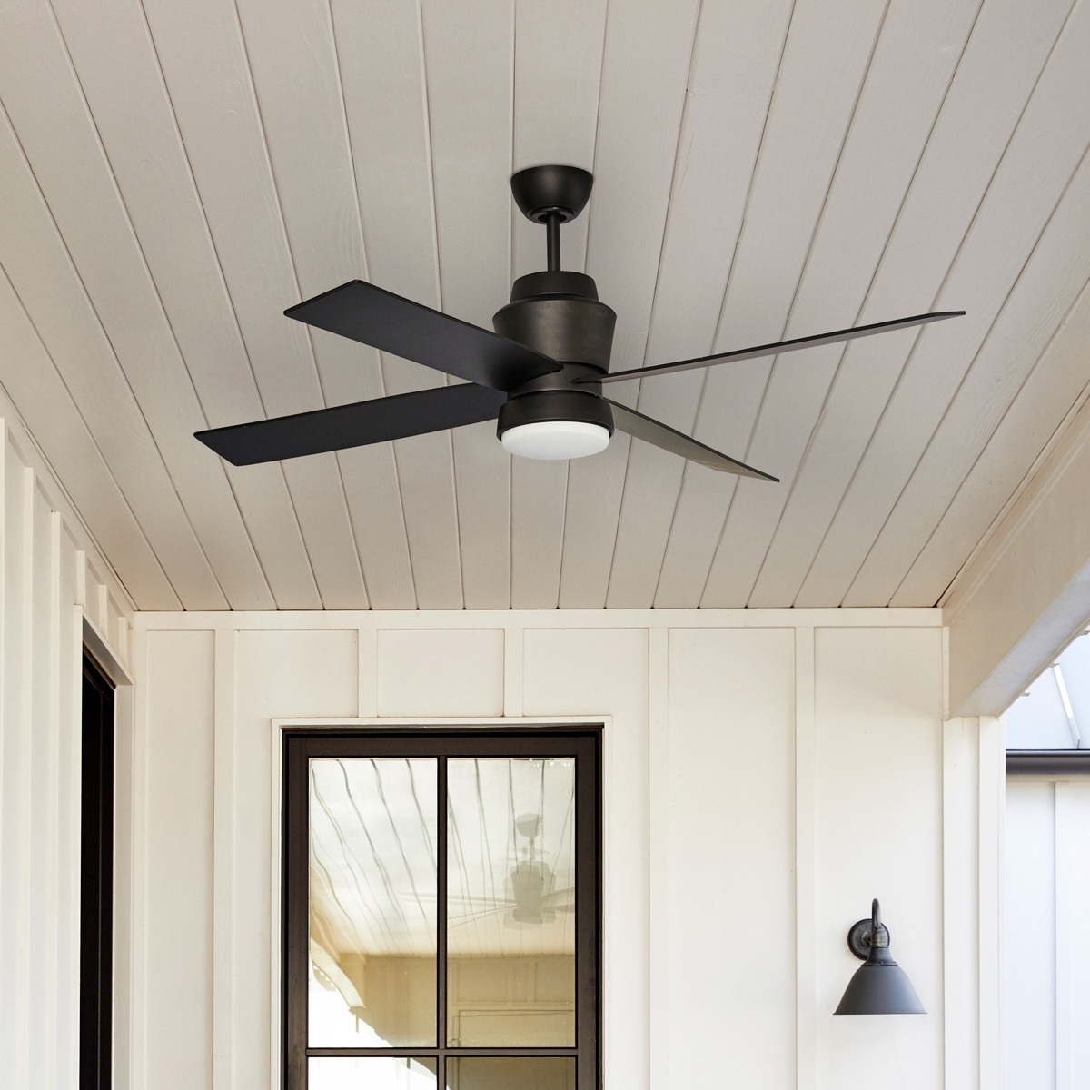 In Other Words – Featured In Traditional Home :: Stori Modern Throughout 2019 Waterproof Outdoor Ceiling Fans (View 8 of 20)