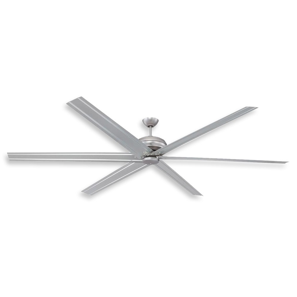 Industrial Outdoor Ceiling Fans With Light Regarding 2018 96 Inch Colossus Ceiling Fancraftmade – Commercial Or (Gallery 11 of 20)