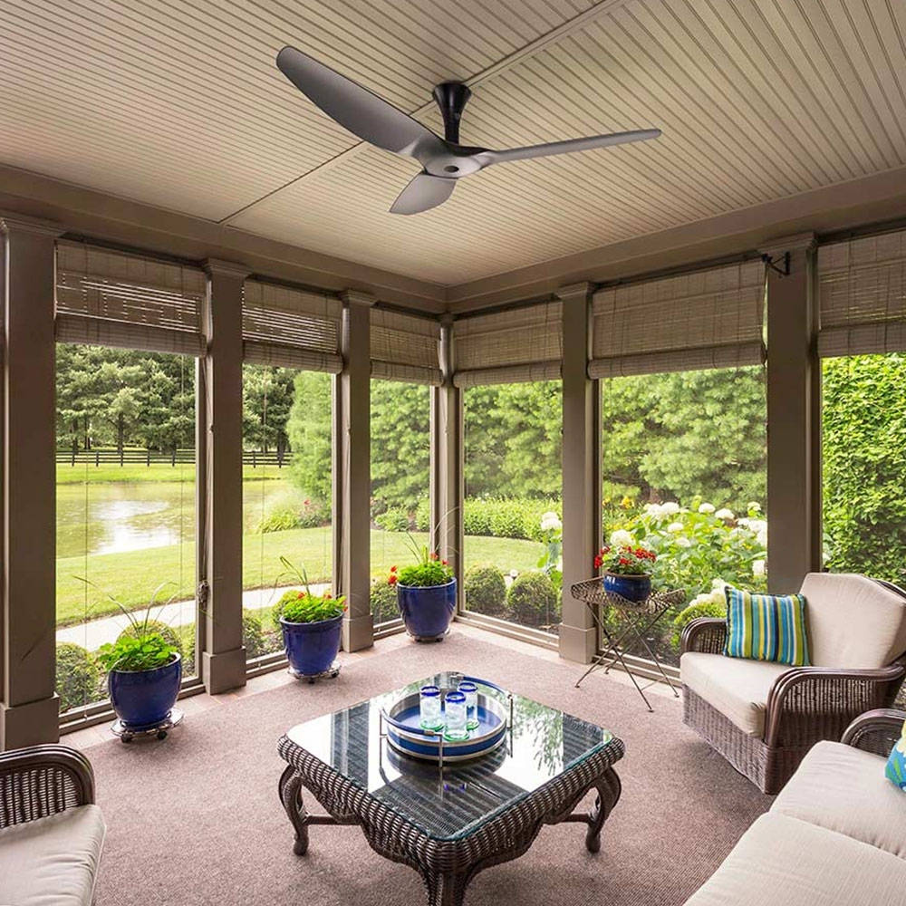 Installing Enclosed Ceiling Fan — The Lucky Design Within Current Outdoor Porch Ceiling Fans With Lights (View 7 of 20)