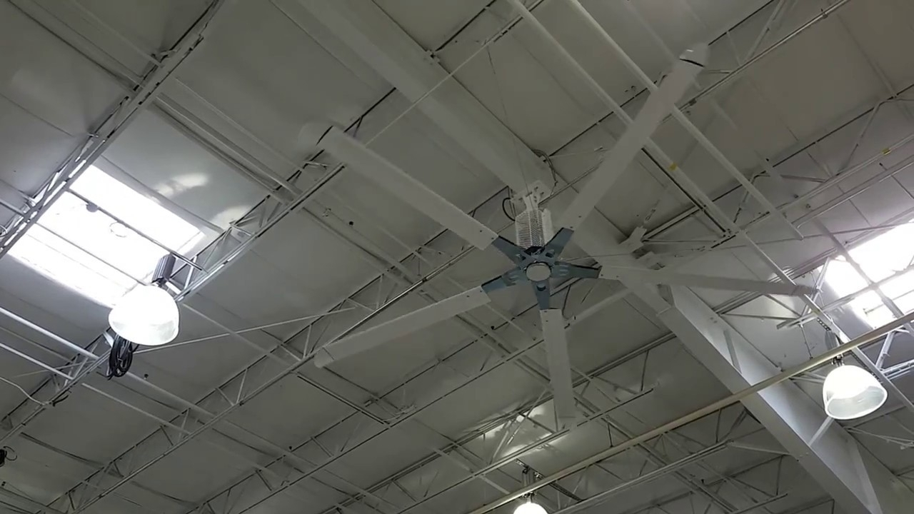 Kelley Hvls Fans At Costco (For Eryk Tungul) – Youtube Inside Popular Outdoor Ceiling Fans At Costco (Gallery 3 of 20)