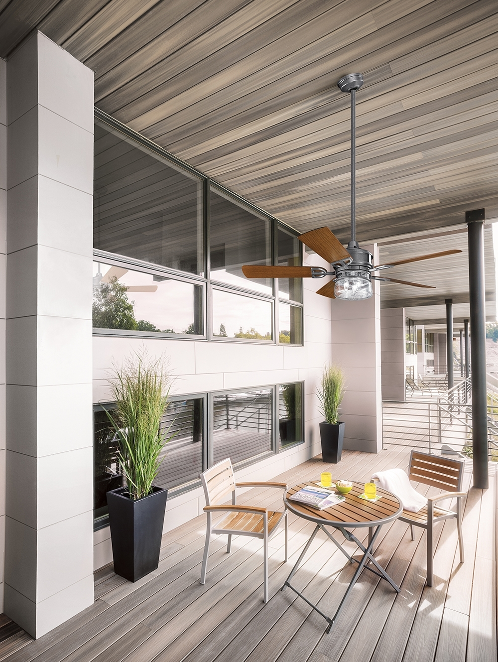 Kichler Outdoor Ceiling Fans – Photos House Interior And Fan For Fashionable Outdoor Patio Ceiling Fans With Lights (View 6 of 20)