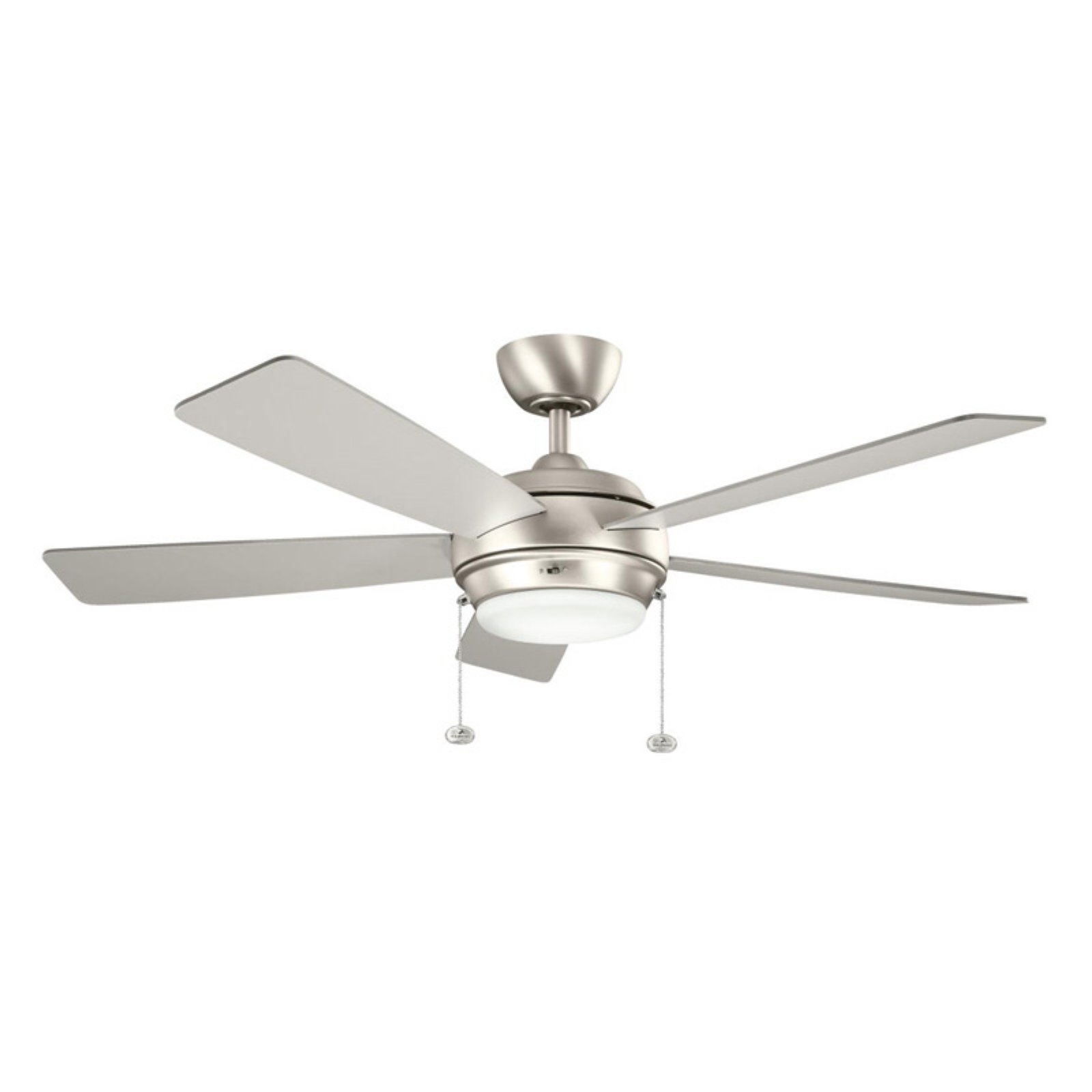 Kichler Outdoor Ceiling Fans With Lights Inside Most Up To Date Kichler Starkk 52 In. Indoor / Outdoor Ceiling Fan – Walmart (Gallery 10 of 20)