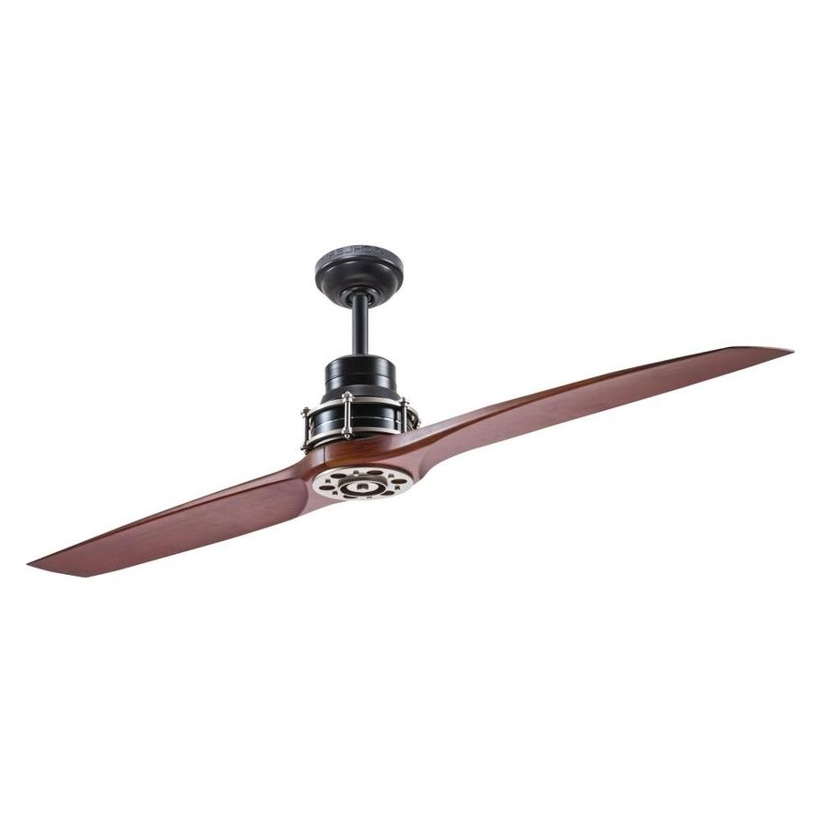 Kichler Outdoor Ceiling Fans With Lights Within Most Up To Date Shop Ceiling Fans At Lowes (Gallery 2 of 20)