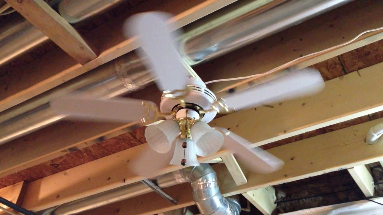 "Latest 42"" Kmart Atlantic Air Alaska Ceiling Fan – Youtube With Regard To Kmart Outdoor Ceiling Fans (View 14 of 20)"