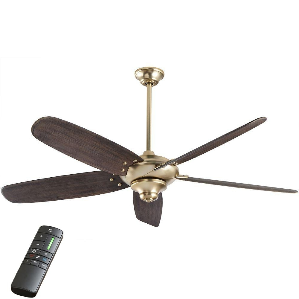 Latest Gold Coast Outdoor Ceiling Fans Within Coastal – Ceiling Fans – Lighting – The Home Depot (View 15 of 20)