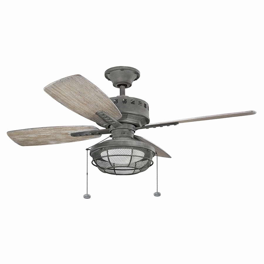 Latest Kichler Outdoor Ceiling Fans With Lights With Regard To Kichler Outdoor Ceiling Fans – Ceiling Design Ideas (View 8 of 20)