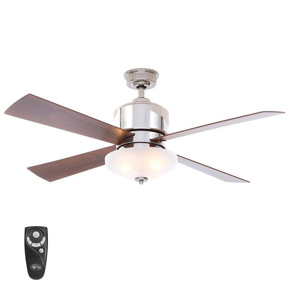 Latest Outdoor Ceiling Fan With Brake Intended For Hampton Bay Rocio 60 In. Natural Iron Indoor/outdoor Ceiling Fan (Gallery 10 of 20)