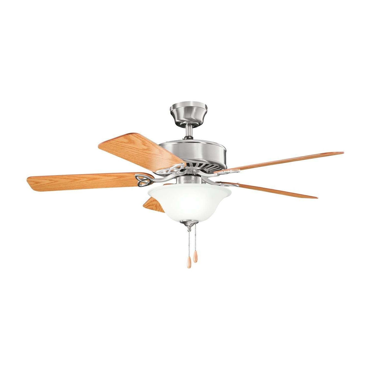 Latest Outdoor Ceiling Fans With Metal Blades Elegant Kichler Mwh 50 Pertaining To Outdoor Ceiling Fans At Amazon (View 10 of 20)