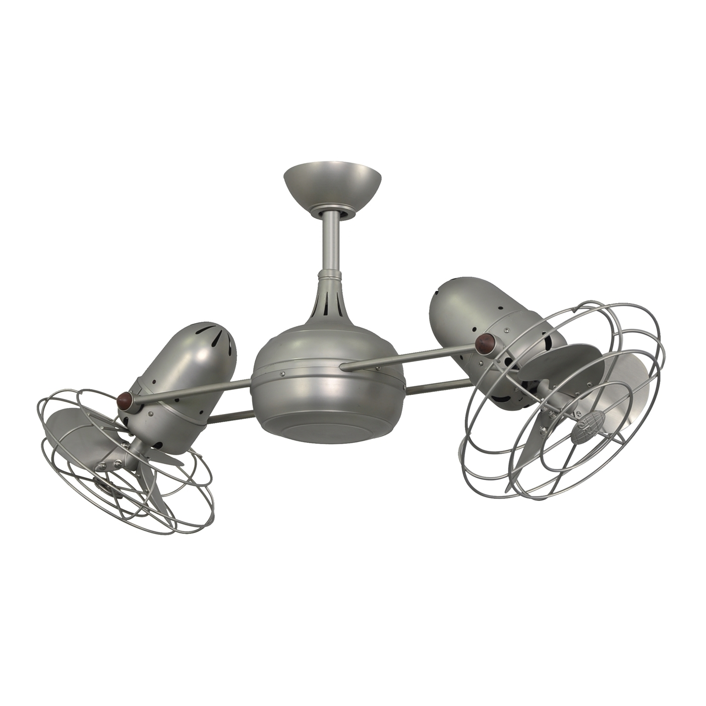 Latest Outdoor Double Oscillating Ceiling Fans With 41 Double Ceiling Fan, Gale Series 14 In Polished Chrome Indoor (View 4 of 20)