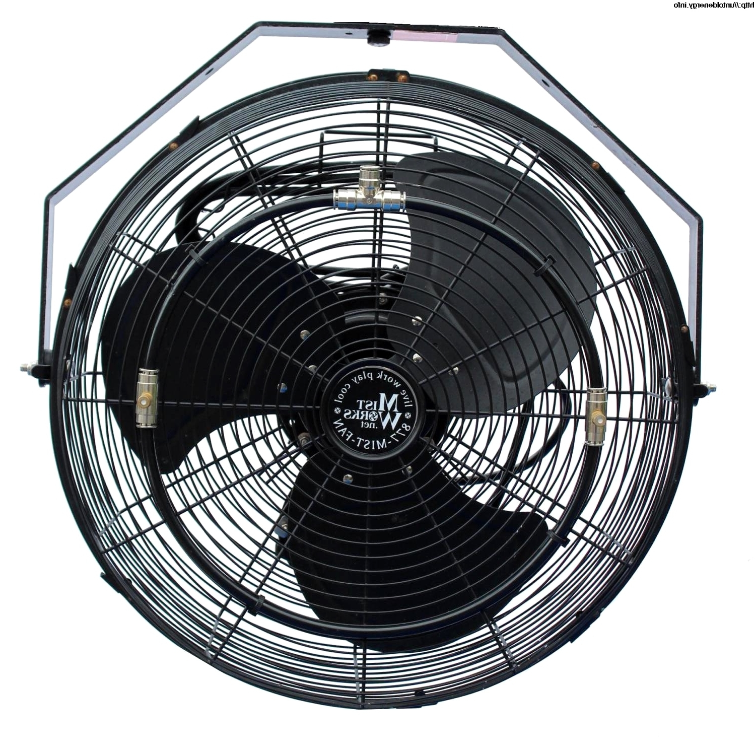 Latest Outdoor Fan (View 5 of 20)