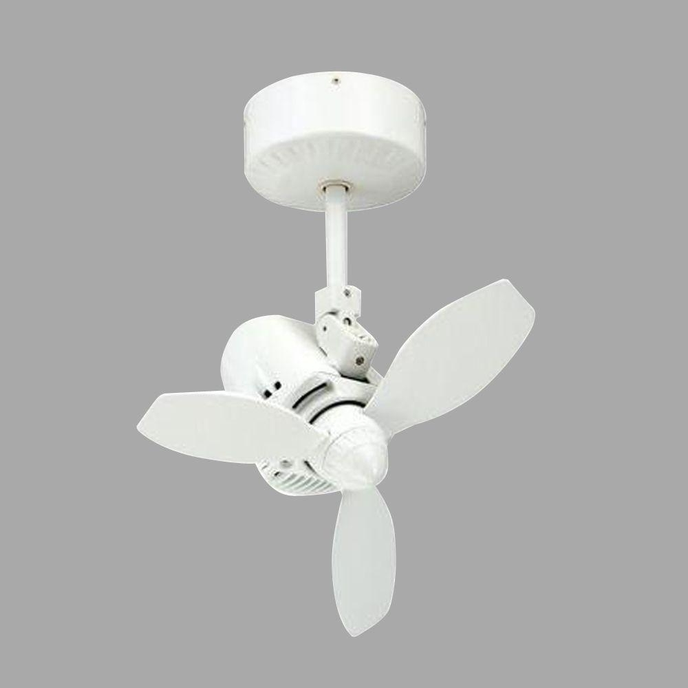 Latest White Outdoor Ceiling Fans With Regard To Troposair Mustang 18 In (View 10 of 20)