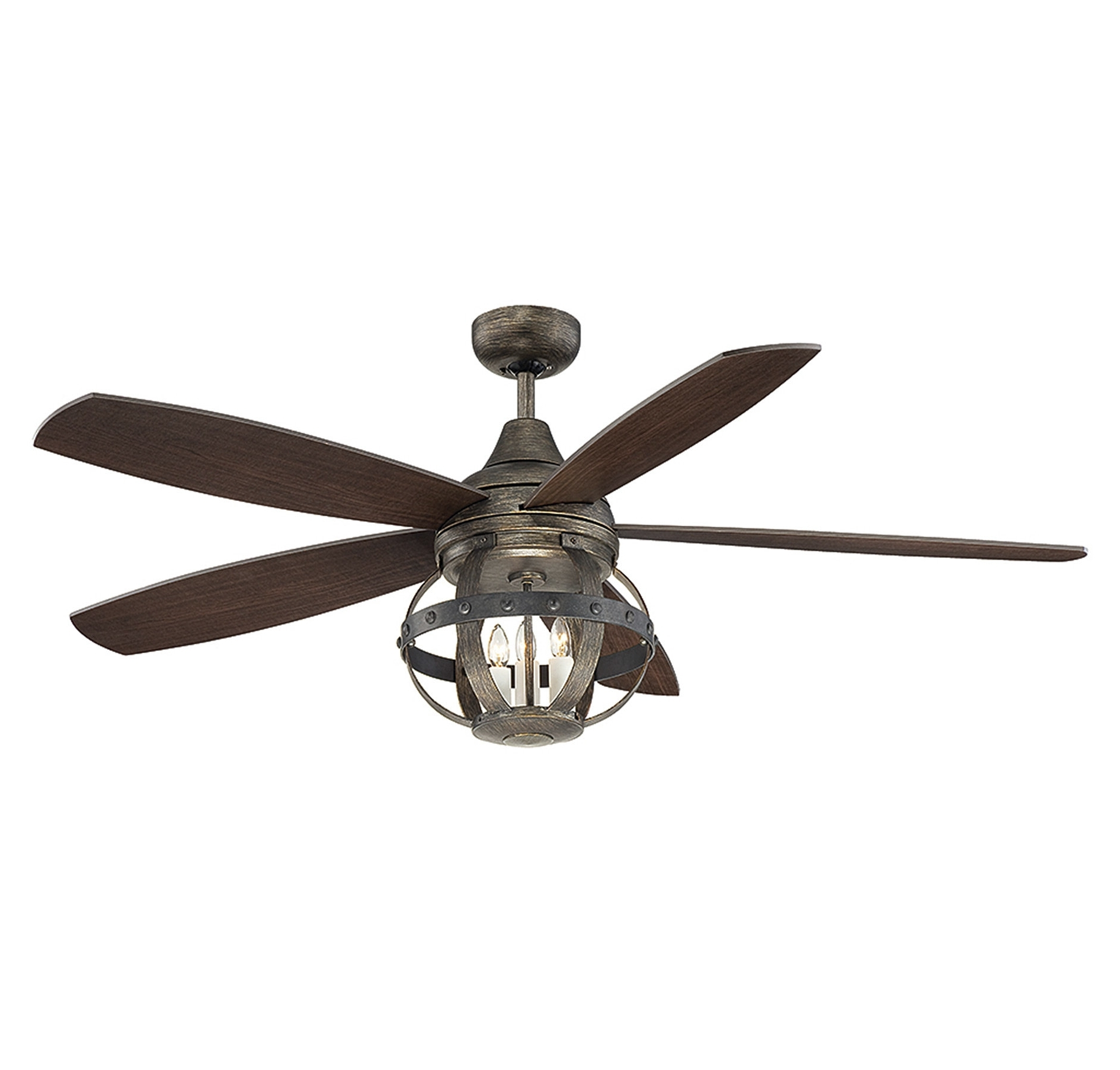 """Laurel Foundry Modern Farmhouse 52"""" Wilburton 5 Blade Ceiling Fan With Regard To Latest Victorian Style Outdoor Ceiling Fans (View 6 of 20)"""