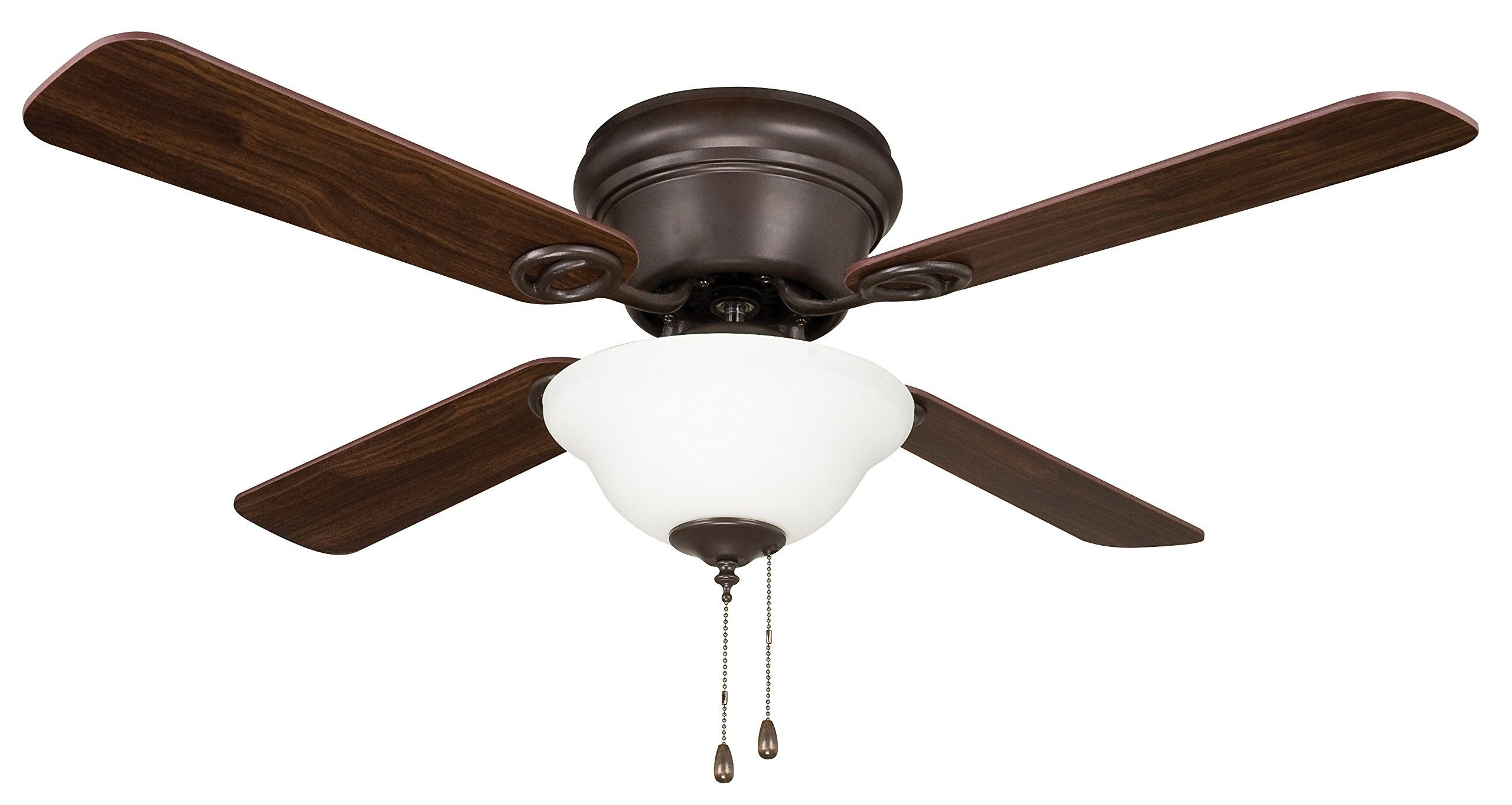Litex Wc42Orb4C1 Wyman Collection 42 Inch Ceiling Fan With Five Regarding Most Recently Released 42 Inch Outdoor Ceiling Fans With Lights (Gallery 12 of 20)