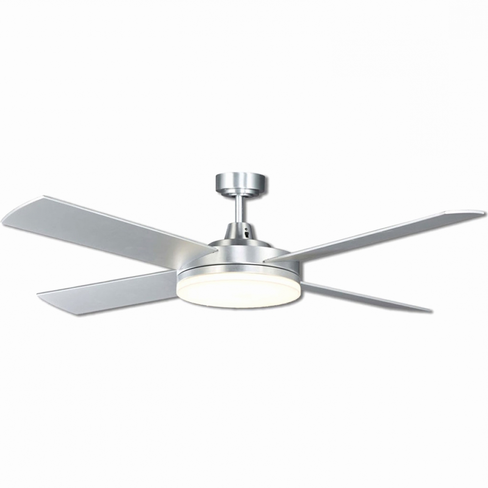 Featured Photo of Low Profile Outdoor Ceiling Fans with Lights