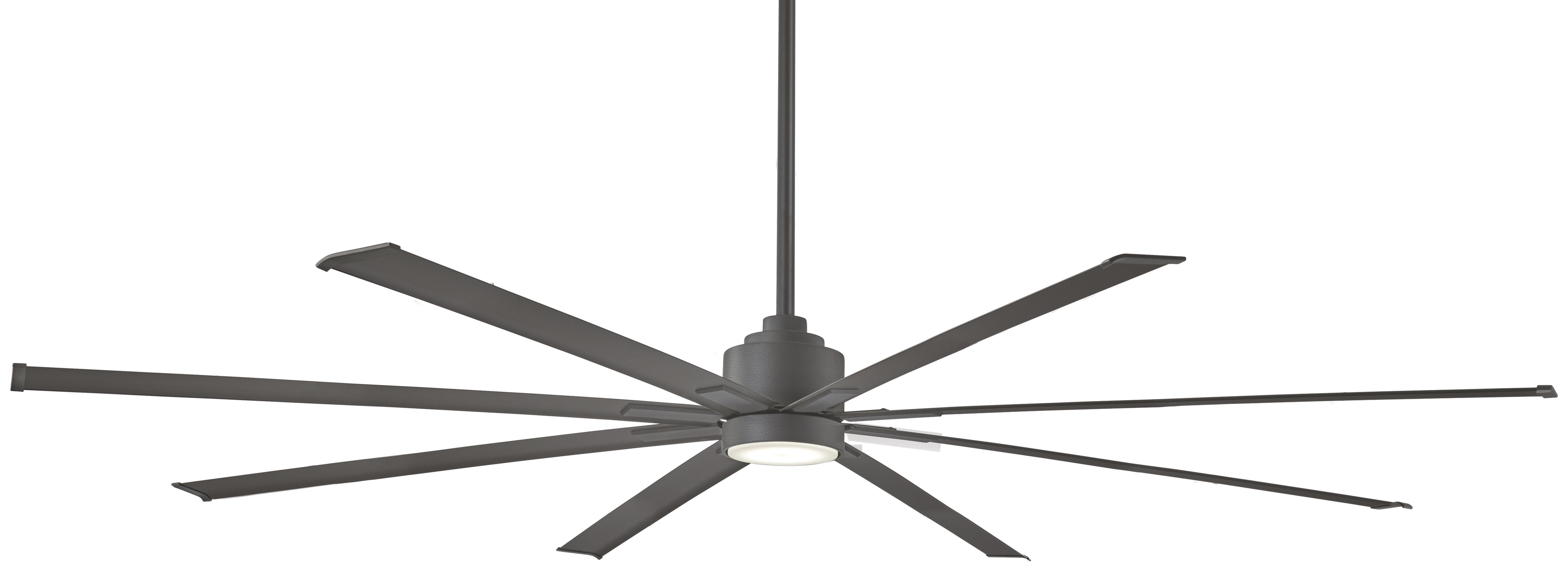 "Minka Aire 84"" Xtreme 8 Outdoor Ceiling Fan With Remote & Reviews In Trendy Outdoor Ceiling Fans With Remote And Light (View 11 of 20)"