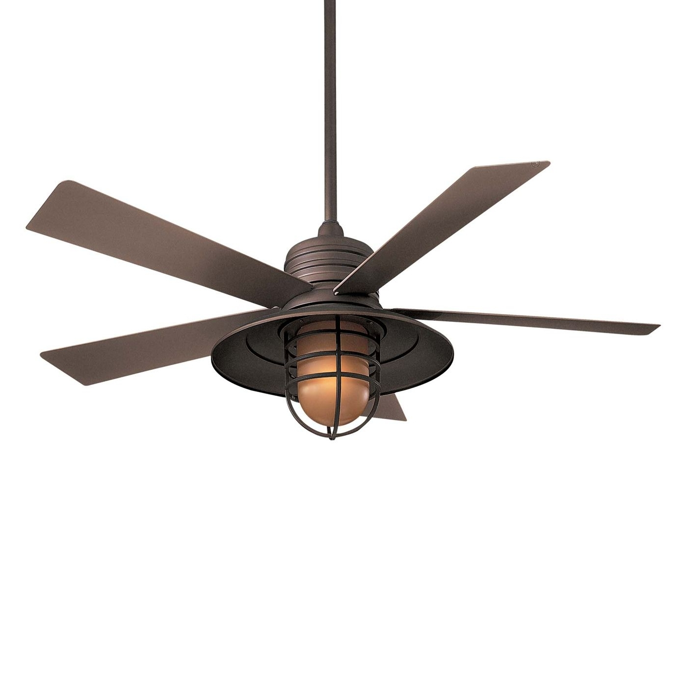 Minka Aire Outdoor Ceiling Fans With Lights Within Newest Minka Aire F582 54 In Rainman™ Indoor/outdoor Ceiling Fan At Atg (Gallery 9 of 20)