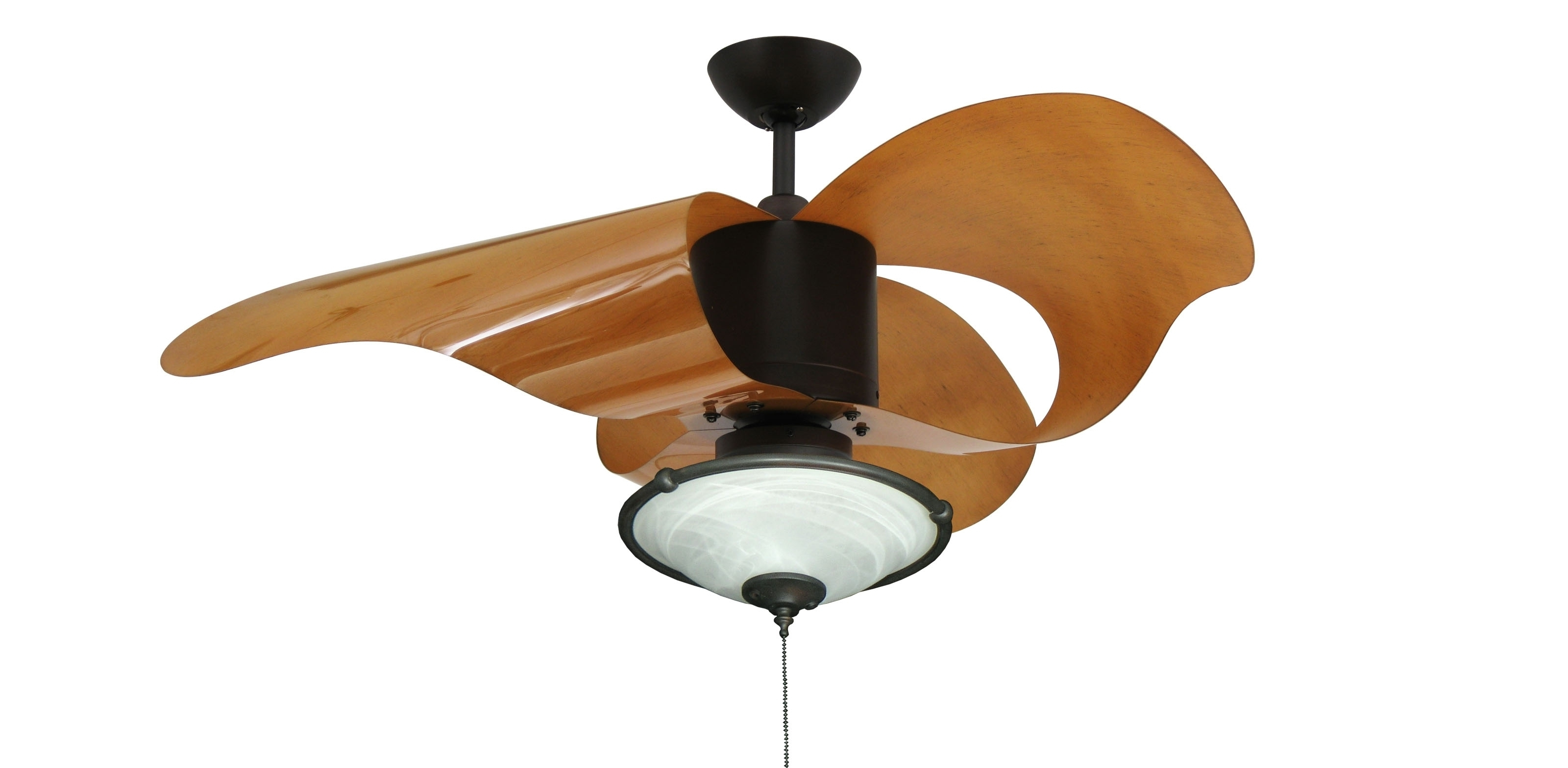 Modern Outdoor Ceiling Fans 52 Antique White Large Room, Modern Pertaining To Favorite Modern Outdoor Ceiling Fans With Lights (View 16 of 20)