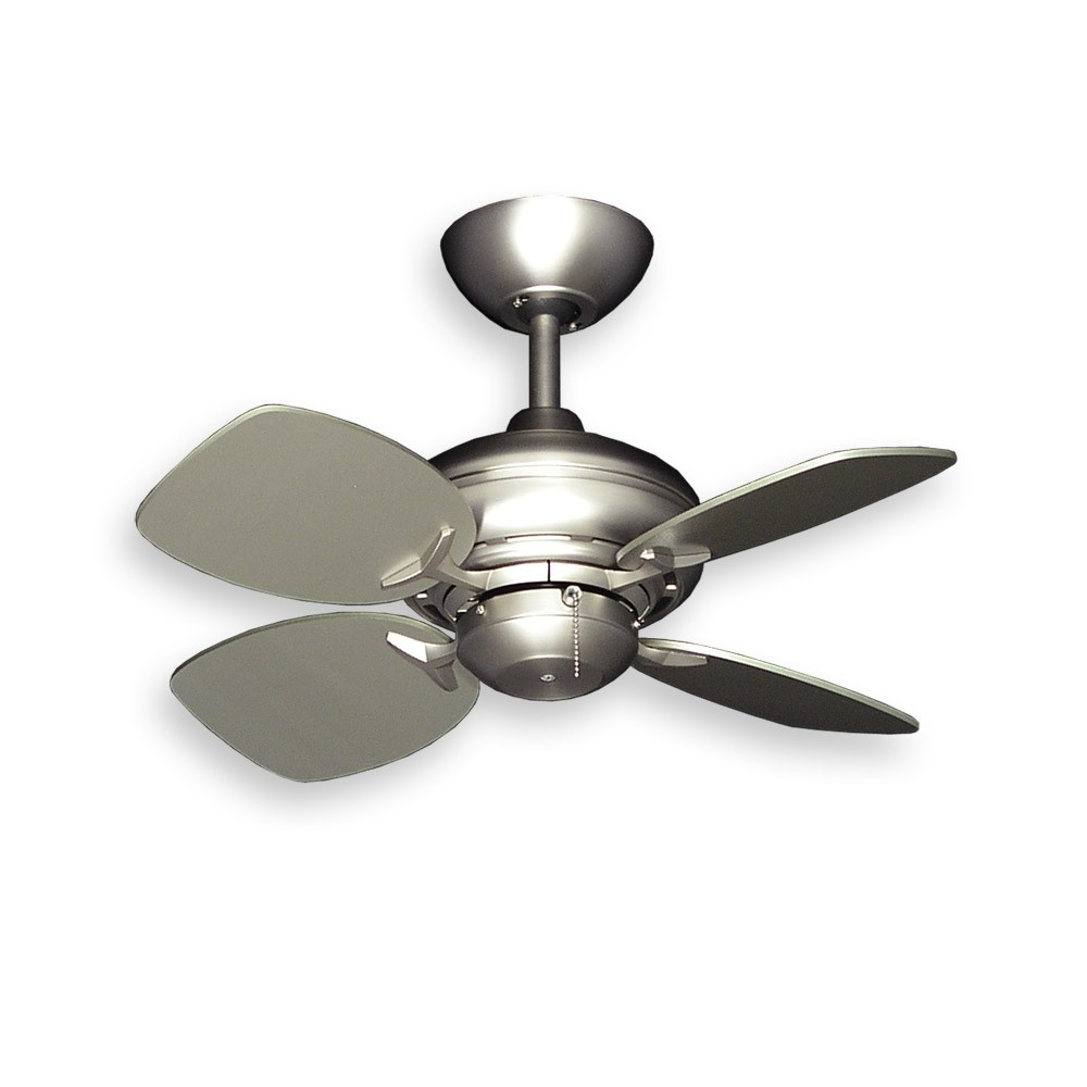 Most Current Tiny 26 Inch Size – The Gulf Coast Mini Breeze Small Ceiling Fan With Regard To Gold Coast Outdoor Ceiling Fans (View 17 of 20)