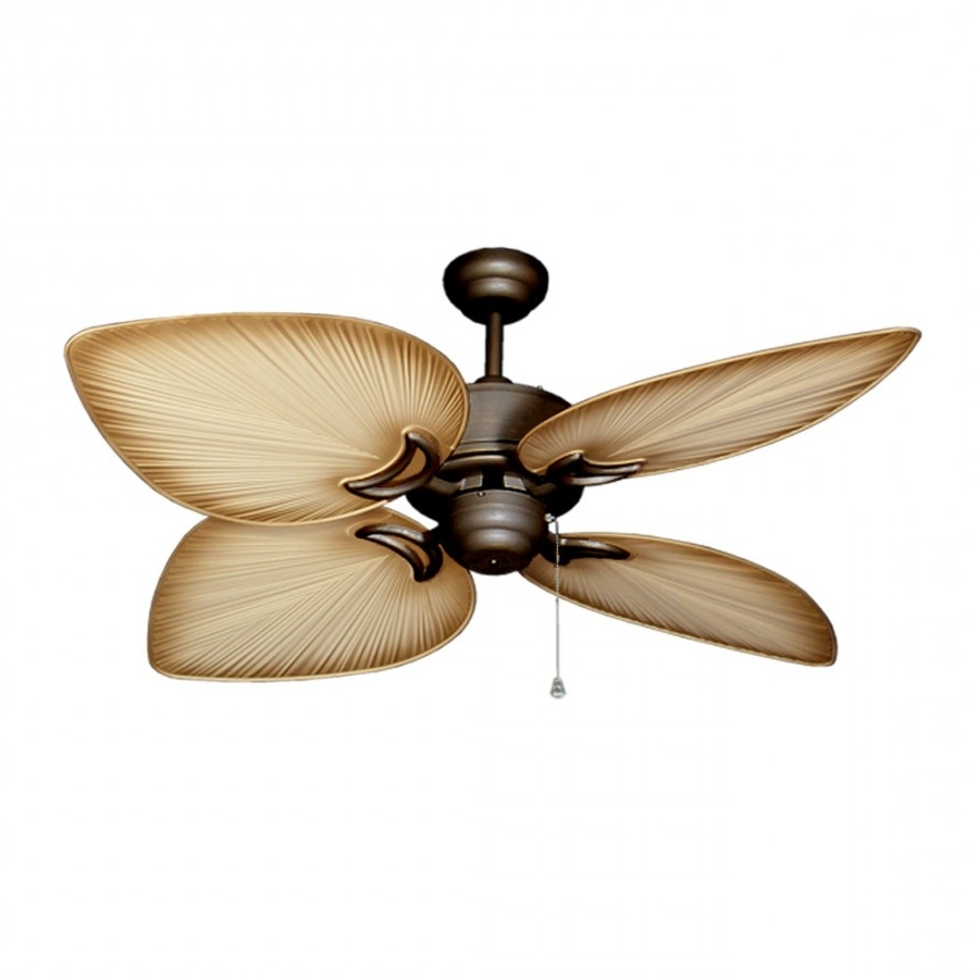 Most Popular Bombay Ceiling Fan, Outdoor Tropical Ceiling Fan With Leaf Blades Outdoor Ceiling Fans (View 14 of 20)