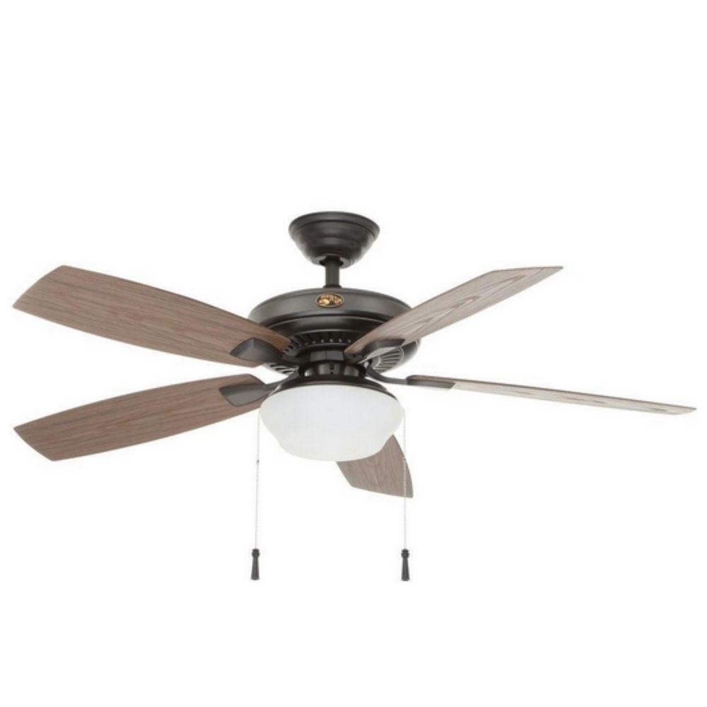 Most Popular Hampton Bay Indoor Outdoor Electric Ceiling Fan Light, Electric Inside Outdoor Electric Ceiling Fans (Gallery 4 of 20)