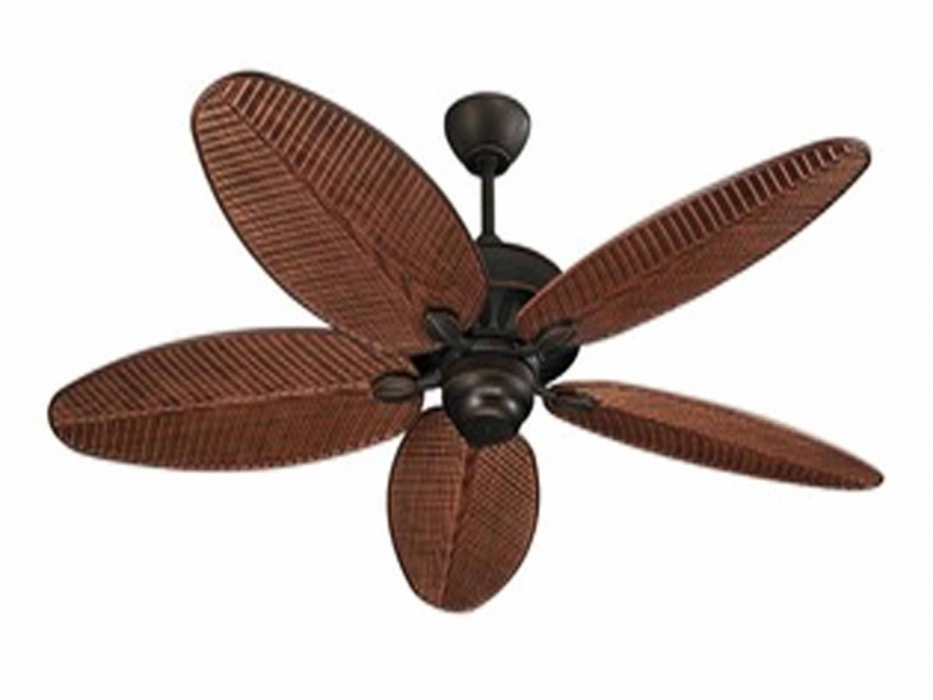 Most Popular High Quality Ceiling Fans Large Outdoor Ceiling Fans With Rustic In Quality Outdoor Ceiling Fans (View 9 of 20)