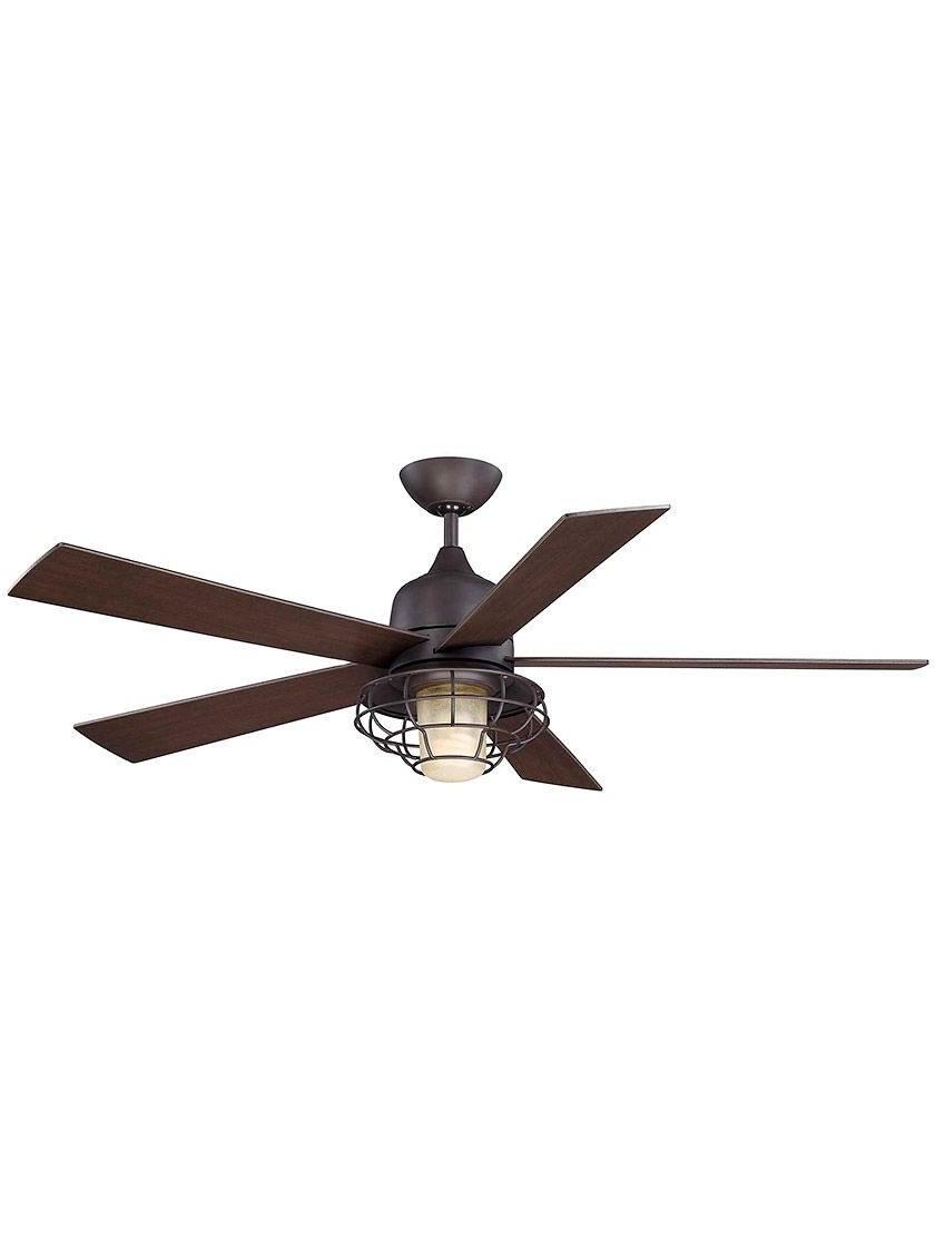 "Most Popular Hyannis 52"" Outdoor Ceiling Fan (View 10 of 20)"