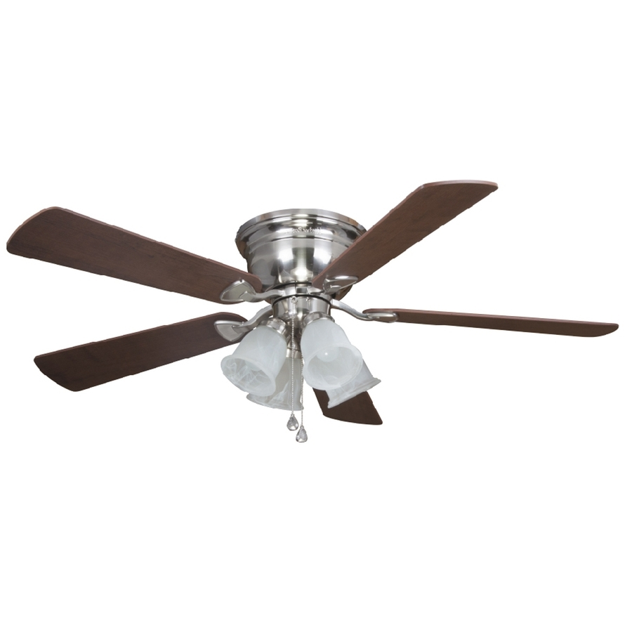 Most Popular Ideas: Customize Your Ceiling Fan With Hunter Fan Light Kit Lowes Regarding Outdoor Ceiling Fans With Cage (View 15 of 20)